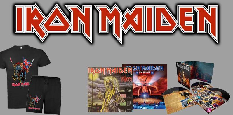 Iron Maiden. Discografía