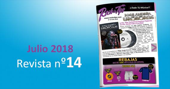 Revista nº14 Julio 2018. Toda la información de tu tienda de música
