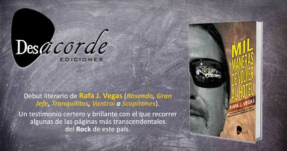 Desacorde Ediciones. Rafa J. Vegas