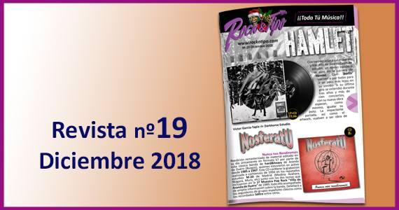 Revista nº19 Diciembre 2018. Todas las novedades y ofertas de tu tienda de música.