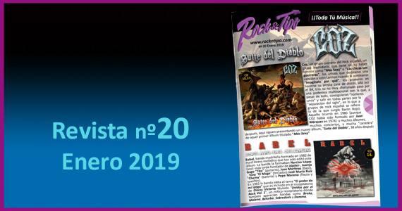 Revista nº20 Enero 2019. Todas las novedades y ofertas de tu tienda de música.