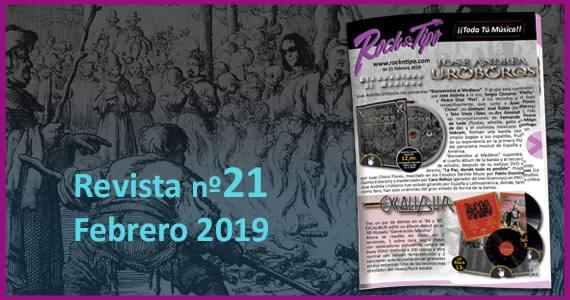 Revista nº21 Febrero 2019. Todas las novedades y ofertas de tu tienda de música.