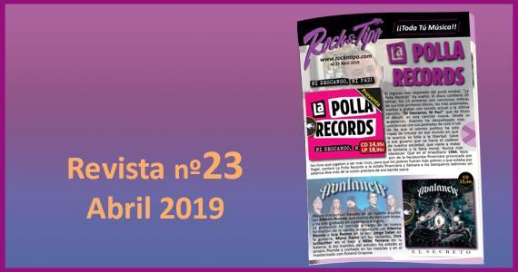 Revista nº23 Abril 2019. Todas las novedades y ofertas de tu tienda de música.