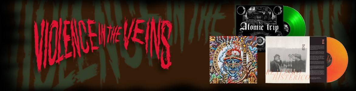 Violence in the Veins. Sello independiente que edita, distribuye e intercambia material de bandas de Harcore, Punk, Thrash...