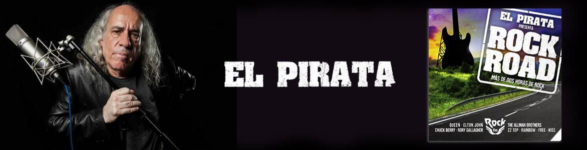 """El Pirata """"Rock Road"""" 35 canciones para la carretera elegidas por el conocido locutor"""