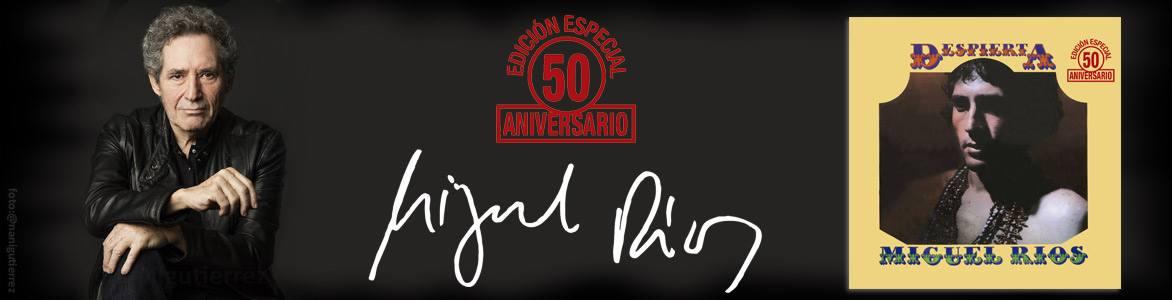"""Miguel Rios """"Despierta"""" 50 aniversario de su 2º disco, incluye el Himno a la alegría y El Rock de la Carcel"""