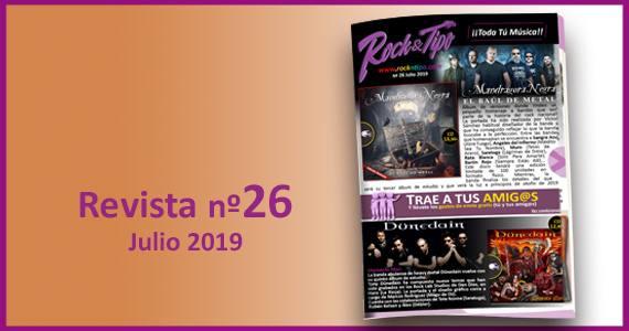 Revista nº26 Junio 2019. Todas las novedades y ofertas de tu tienda de música.
