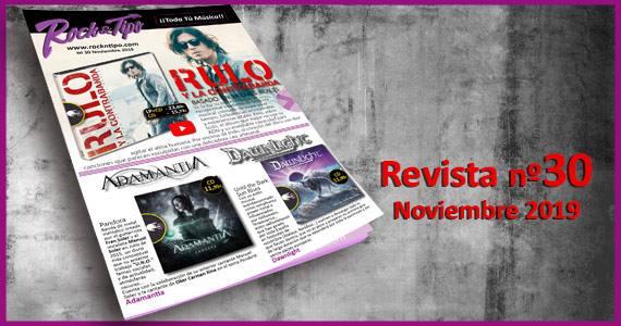 Revista nº30 Noviembre 2019. Descubre todas las novedades y ofertas de tu tienda de música.